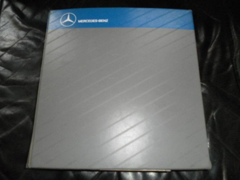 Mercedes Benz Microfiche Busse Aufbau - Fahrgestell orig. ca.500 St. Oldtimer