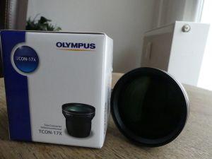 Objektiv Olympus TCON-17X BLK Teleconverter für XZ-1, neuwertig TOP ZUSTAND!!! 0