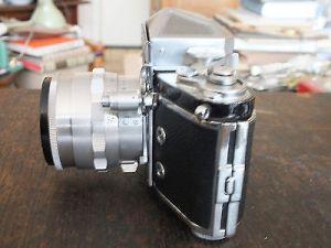 IHAGEE DRESDEN Kamera EXAKTA VAREX IIa, CARL ZEISS JENA TESSAR 2.8/50 Köcher TOP 3