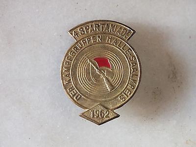 4. Spartakiade der Kampfgruppen Halle - Saalkreis 1962