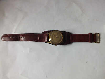 Armbanduhr Junghans, Herren Trilastic 17 Jewels, funktionstüchig