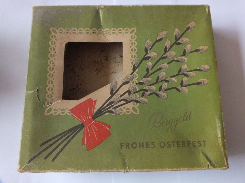 Osterpräsentpackung, Berggold, VEB Thüringer Schokoladenwerke Saalfeld 0