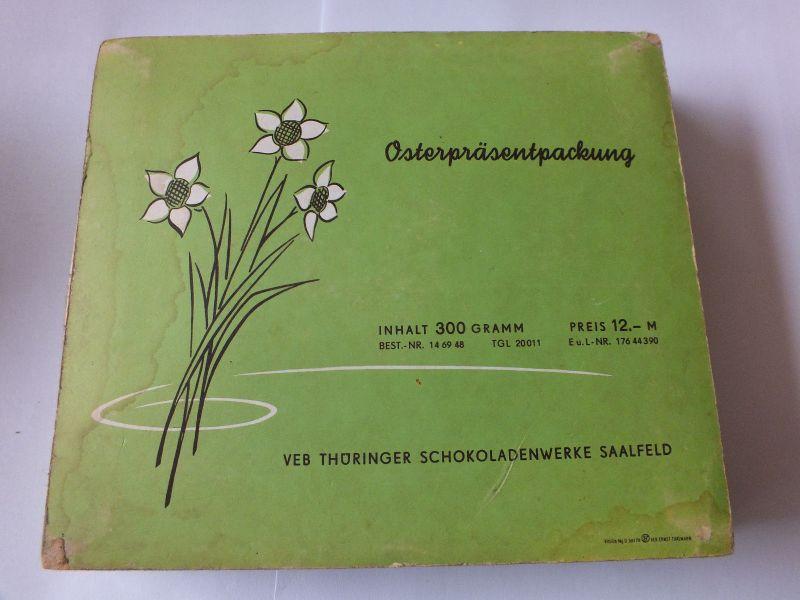 Osterpräsentpackung, Berggold, VEB Thüringer Schokoladenwerke Saalfeld 2