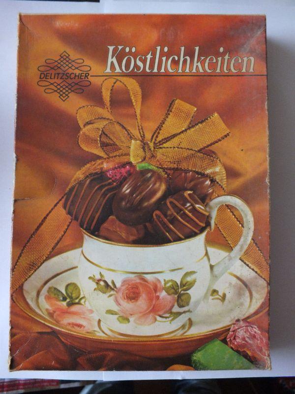 Köstlichkeiten  VEB Vereinigte Süsswarenwerke Delitzsch / Eilenburg 0