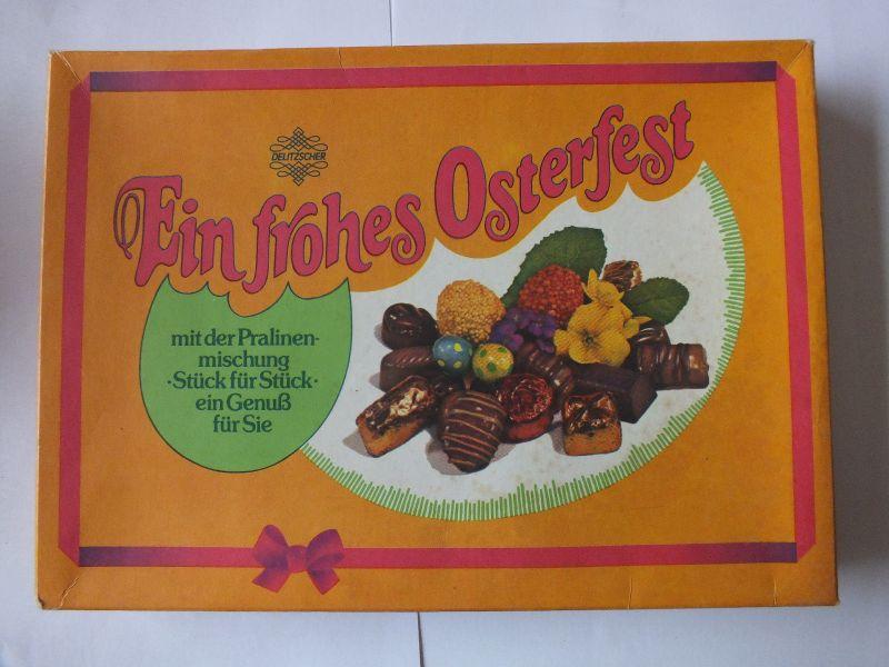 Ein frohes Osterfest, VEB Vereinigte Süsswarenwerke Delitzsch / Eilenburg 1988