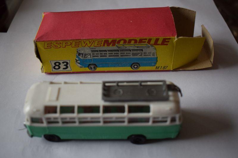 Omnibus Ikarus 311, ESPEWE, M 1:87, Originalverpackung, TOP ZUSTAND!!