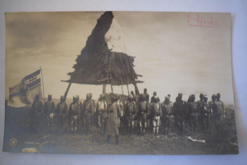 Ak Deutsch-Ost-Afrika, Signal- und Beobachtungs-Station, nicht gelaufen