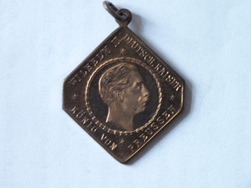 Medaille, WIlhelm II. D. Kaiser Kaisermanöver u. Parade III. IV. Armeecorps 1912 0
