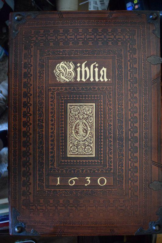 Bibel von 1630 Faksimile, Top Zustand 0
