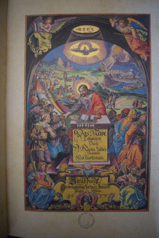 Bibel von 1630 Faksimile, Top Zustand 2