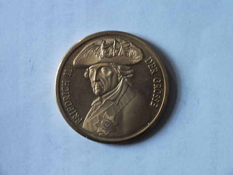 Medaille, Friedrich II., der Große, Pro Gloria et Patria