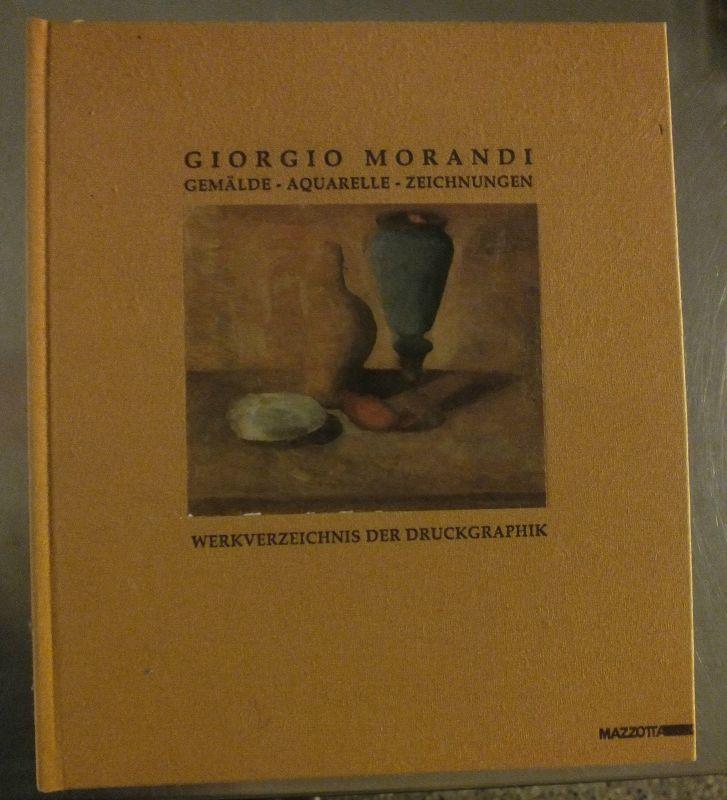 Buch: Giorgio Morandi, Gemälde, Aquarelle, Zeichnungen, Werksverzeichnis der ...