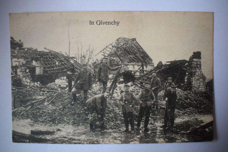 Ak Givenchy - , um 1915, nicht gelaufen 0