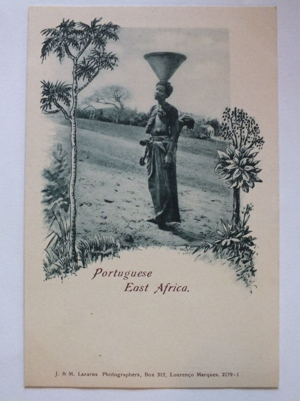 Ak Portoguese East Afrika, um 1910 nicht gel., Verlag Lazarus