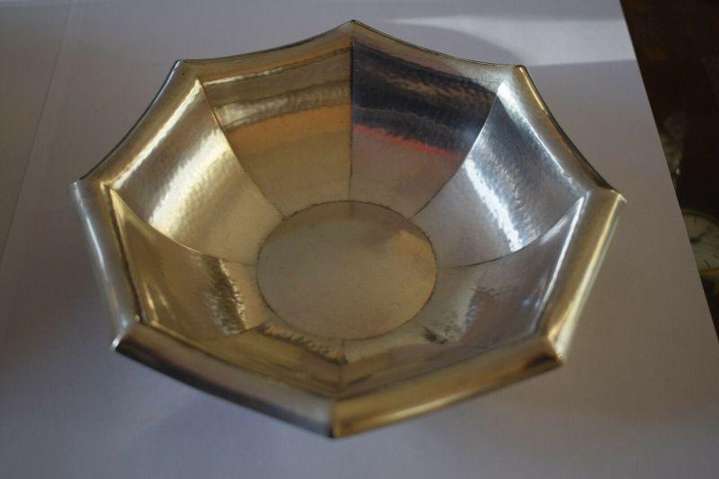 Alte Siberschale, 835 Silber Halbmond und Krone, 70g