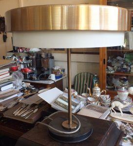 Wunderschöne Tischlampe, Design, voll funktionstüchtig, um 1970 TOP!