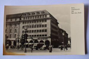 Ak Berlin, Friedrichstraße Ecke unter den Linden, um 1956 nicht gelaufen