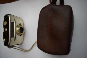 Penti II Gold Schwarz mit Domiplan V 3,5/30 Objektiv mit Tasche u. Pentiband TOP
