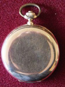 Schöne Taschenuhr Tavannes Gold 585, Ankerwerk, Sprungdeckel, 3 Deckel Gold TOP