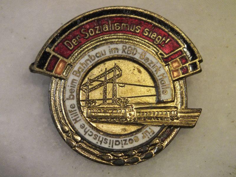 Für sozialistische Hilfe beim Bahnbau im RBD-Bezirk Halle, Der Sozialismus siegt