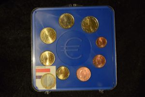 Luxemburg 2002 KMS, im original Blister, top Zustand 1Cent bis 2 Euro