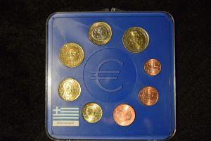 Griechenland 2002 KMS, im original Blister, top Zustand 1Cent bis 2 Euro