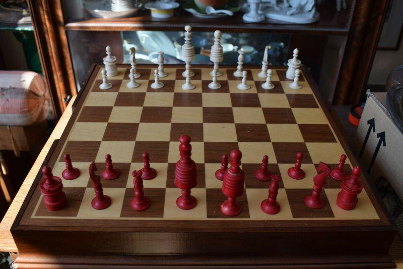 Schachfiguren, Antiquie