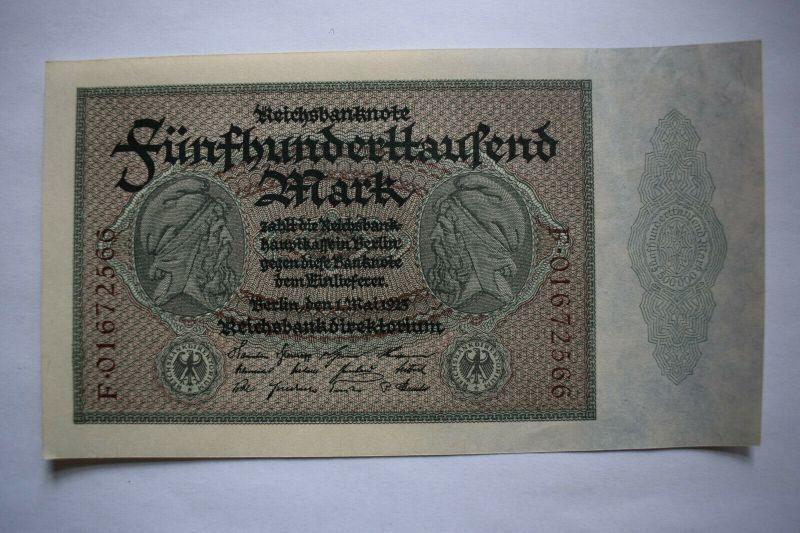 500000 Mark, Reichsbanknote, Berlin 1925, wie bankfrisch
