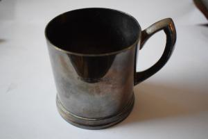 Teeglashalter Fritz Mundus Halle, Gastrosilber, Original Wellner, Wellner Söhne