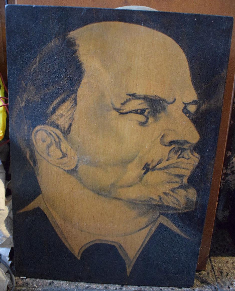 Lenin , 50cm hoch, 34cm breit 0