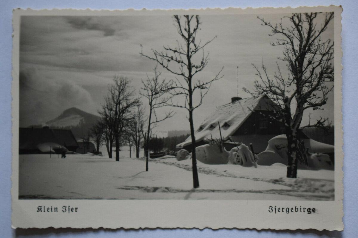 Ak Klein Iser, Isergebirge, 1940 gelaufen