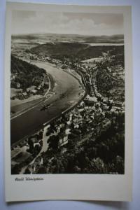 Ak Stadt Königstein, Verlag Wagner Söhne, Zittau, 1945 nicht gelaufen