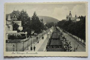 Ak Bad Wildungen, Brunnenallee, 1941 gelaufen
