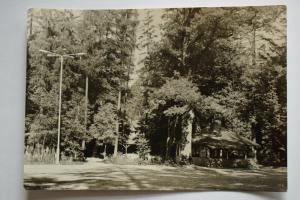 Ak Ziegelrodaer Forst, Waldgaststätte Jägerhütte, 1971 nicht gelaufen, Foto Kühn