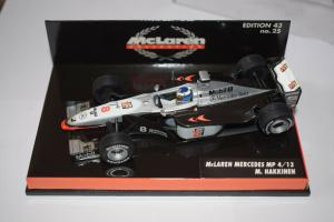 Mc Laren Mercedes MP 4/13, M. Hakkinen, Edition 43 no. 25
