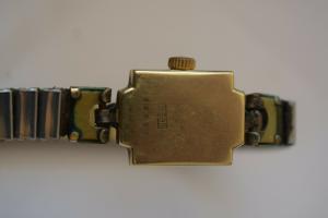 Damenuhr Armbanduhr Herva Swiss, 585 -er Gold, Funktion nicht geprüft