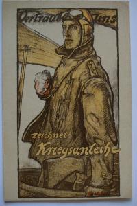 Ak Vertraut uns zeichnet Kriegsanleihe, Prof. Fritz Erler, München