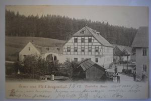 Ak Gruss aus Heil - Georgenthal Deutsches Haus, 1903 gelaufen
