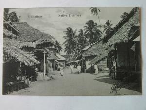 Ak Sansibar, Zanzibar, Native Duarlers, um 1910 nicht gelaufen, Verlag P. de Lor