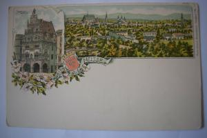 Ak Gruss aus Neisse, Kämmerei-Gebäude, um 1900 nicht gelaufen