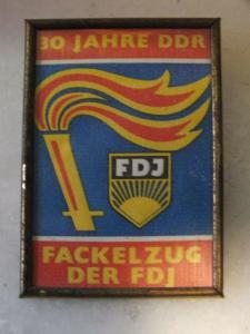 30 Jahre DDR, Fackelzug der FDJ
