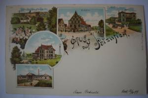 Ak Gruss aus Salzuflen, Sophienhaus, Schützenhaus, Markt, Woldemar bad, um 1900