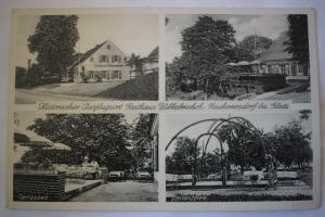 Ak Neuhannsdorf bei Glatz, Gasthaus Wilhelmshöh, 1940 gelaufen, Feldpost