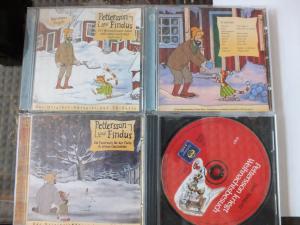 4 x CD, Pettersson und Findus