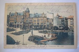 Ak Zentral - Kaffee, Königsberg 1921 gelaufen