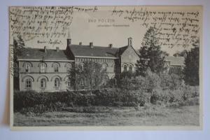 Ak Bad Polzin, Johanniter Krankenhaus, 1910 gelaufen