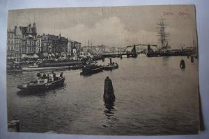 Ak Stettin, Szczecin, Hafen, 1907 gelaufen