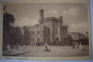 Ak Breslau, Wroclaw, Hauptbahnhof, 1926, nicht gelaufen