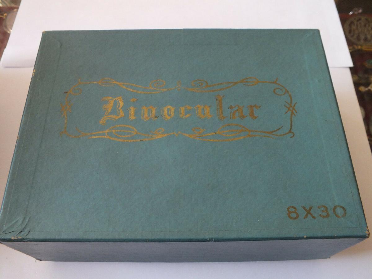 Fernglas Astrola Binocular 8 x 30 mit Schachtel, coated optics, TOP Zustand 0
