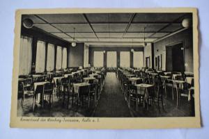 AK Halle Weinberg - Terrassen Lokal Weinberg Konzertsaal, nicht gelaufen